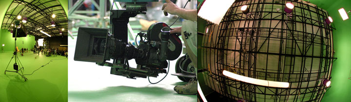 Martin Heigan on set VFX Supervision